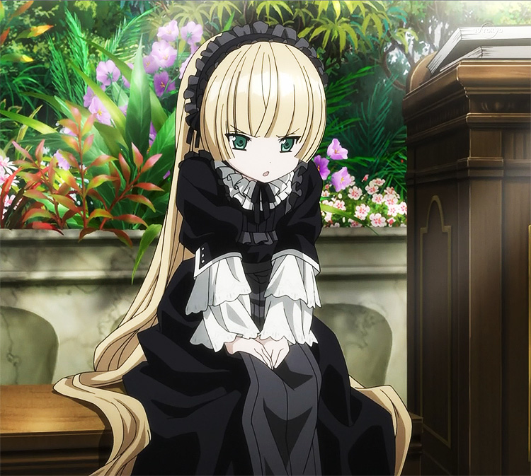 Gosick Victorian dress Victorique black