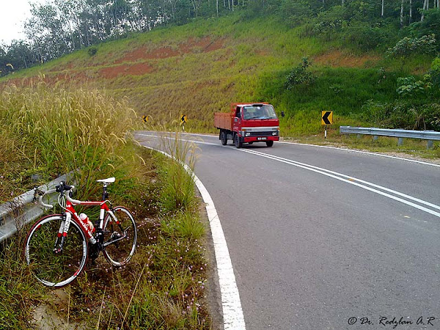 Road bike at Raub Pahang