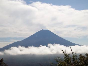 絶景の富士