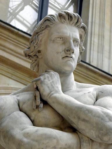 ספרטקוס, דניס פוייאטר 1830 צילום בועז ארד