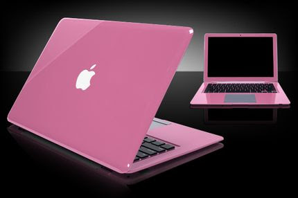 New Released Pink Apple Macbook