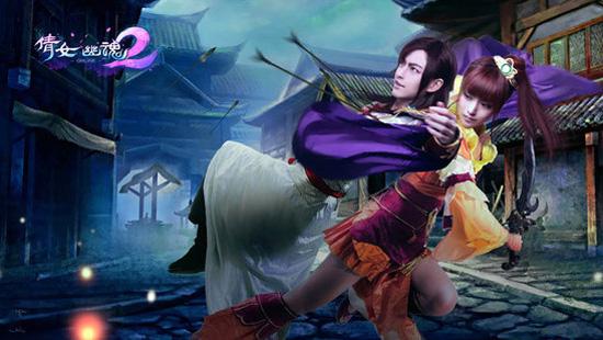 Lộ diện cosplay quảng bá Thiện Nữ U Hồn 2