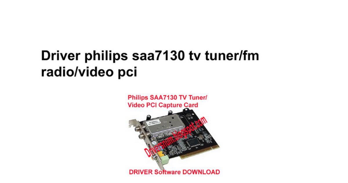 Chronos pc tv pci 7135 driver for windows 7.