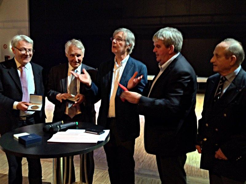 Soirée en l'honneur de M. Gilles-Marie Pelletan, maire-honoraire de Grand-Champ, le 1er juillet 2016, à l'Espace 2000 Célestin Blévin à Grand-Champ
