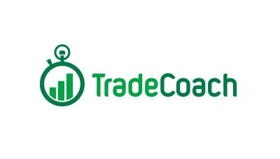 trading coach logo design