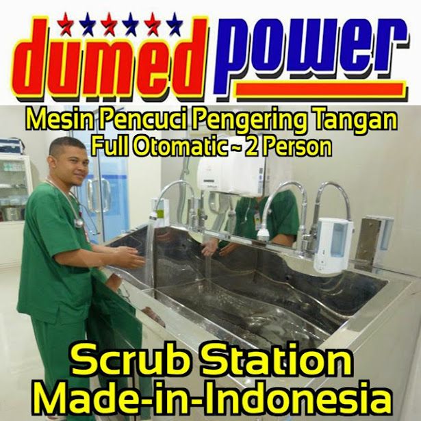 Scrub Station 1, 2, 3 dan 4 Person ~ Full-Automatic Sensor