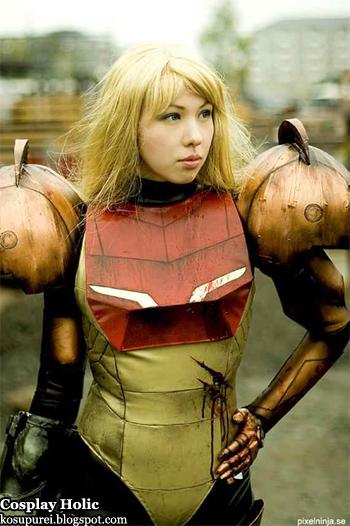 metroid prime cosplay - samus aran