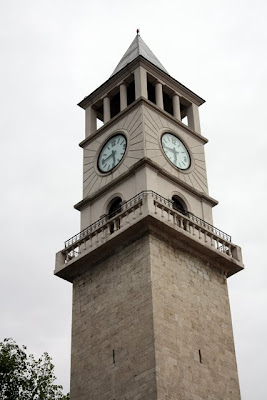 Clock tower in Tirana Albania