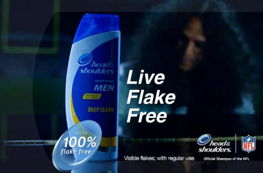 Troy Polamalu Is The Piano Man for Head & Shoulders Ad