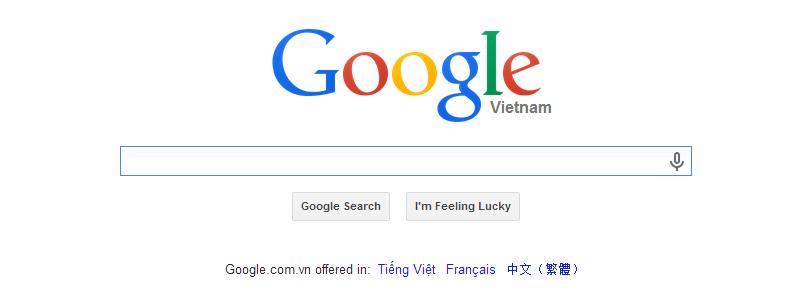 Tạo form tìm kiếm cho website với google custom search