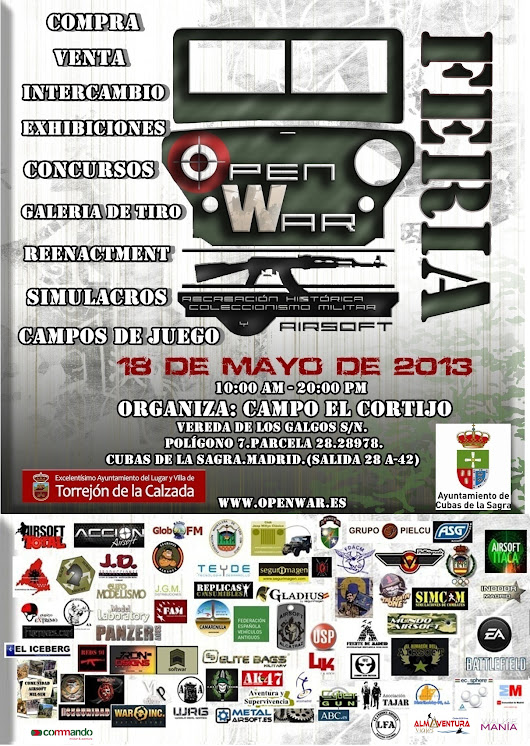 OPEN WAR. 18-05-13 CARTEL-+OPENWAR