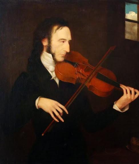 Daniel Maclise - Niccolò Paganini (1782–1840)