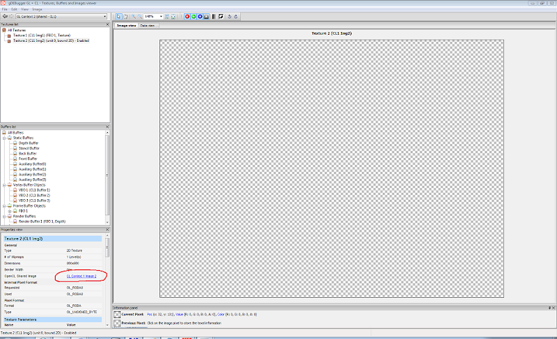 gDebugger screen 1