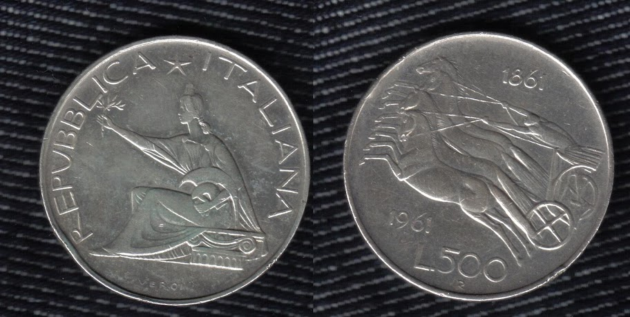 Mi colección de monedas italianas. 500%20liras%201961
