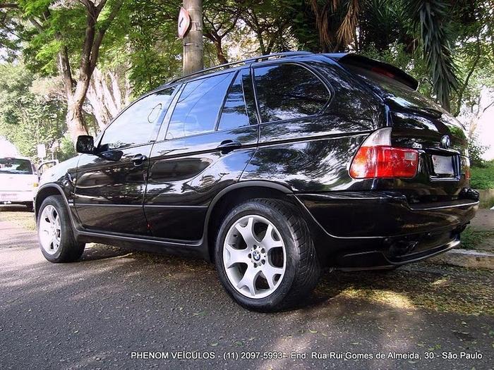 BMW X5 Sport 2002 V-8 4x4 Blidada IIIA - rodas 19 polegadas