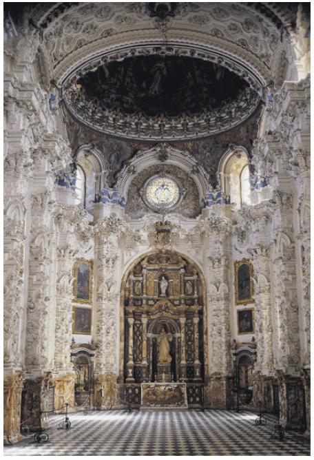 Arte torreherberos actividades de arte barroco for Interior izquierdo