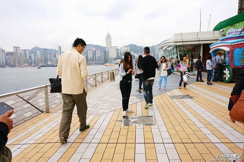 尖沙咀景點,香港星光大道-4