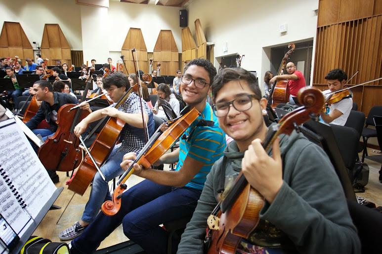 Venezuela y Brasil se unieron por primera vez en una orquesta binacional