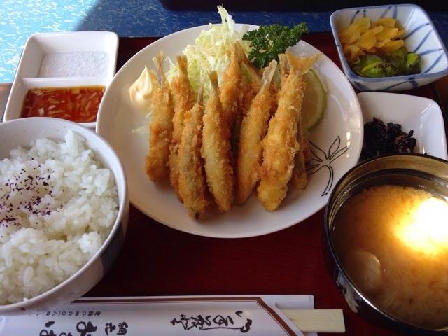 網元おおば ワカサギ天ぷら定食