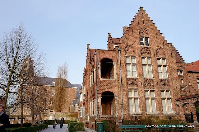 Госпиталь Святого Яна и музей Мемлинга Bruges, Брюгге