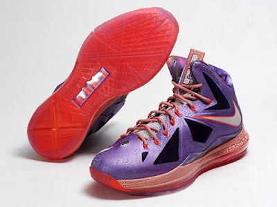 nike lebron 10 gr allstar galaxy 10 03 Closer Look at King James Nike LeBron X Allstar Shoes