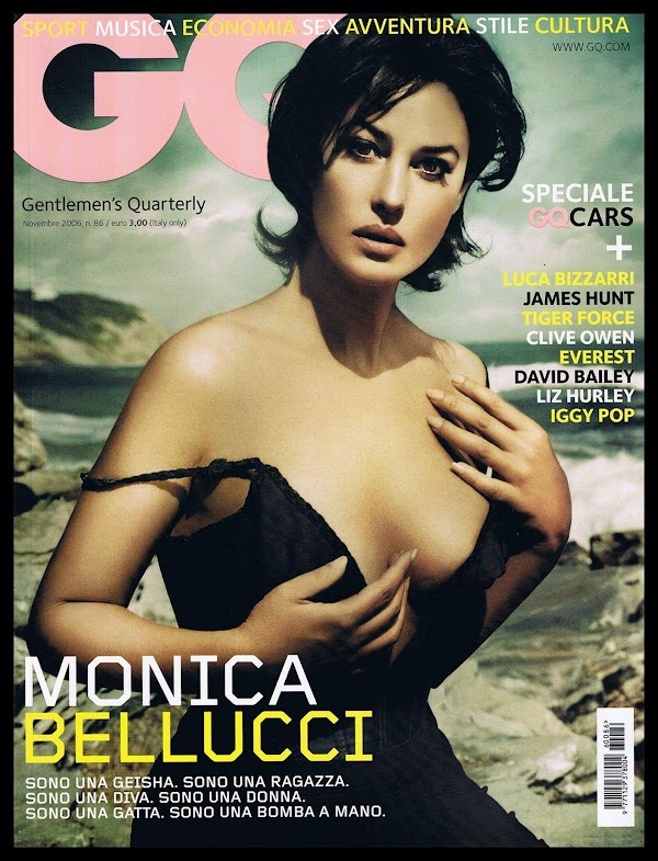 Monica Bellucci Italian GQ:celebrities,Best,milf0