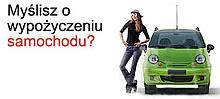 Wypożyczalnia aut w Warszawie