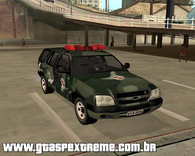 Chevrolet Blazer C.O.E 2011 para grand theft auto