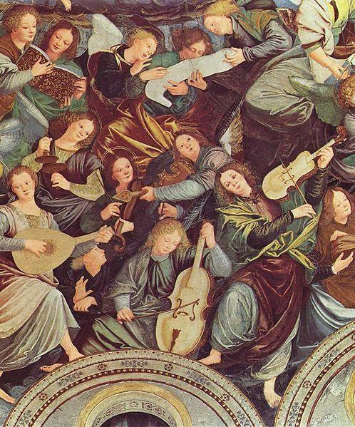 Gaudenzio Ferrari - Glory of Angels, in Santa Maria dei Miracoli, Saronno