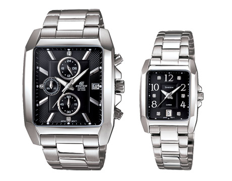 Jual Jam Tangan Casio Couple Edifice Sheen   SHE-4023D  378ec0be37