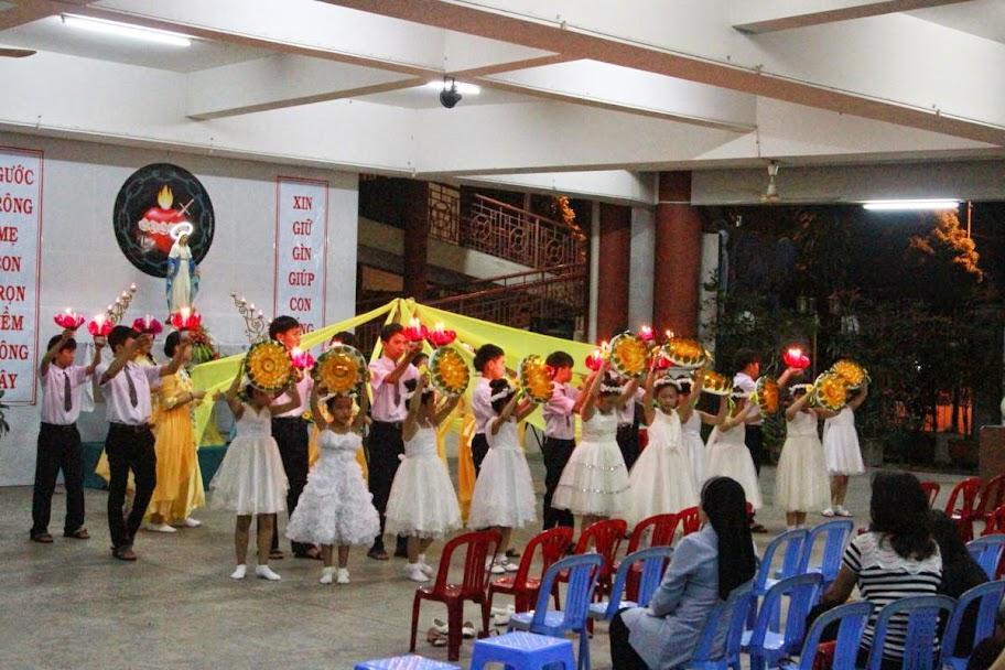 Khai mạc Tháng Mân Côi ở giáo xứ Phước Hải.