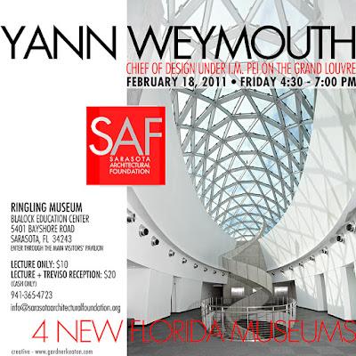 Dali Museum Yann Weymouth+lecture sarasota