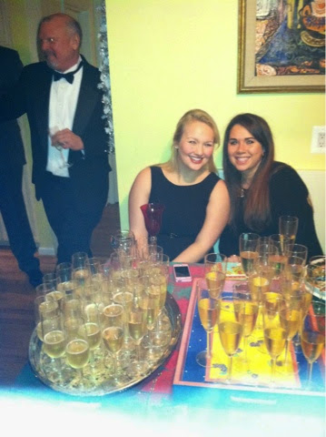 Julia and Nicki New Year's Eve