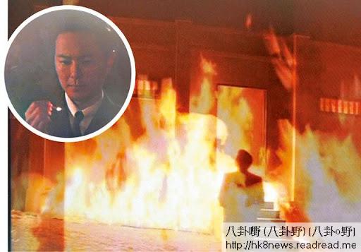 蕭正楠想一把火燒曬「賀正堂」嘅藥倉
