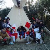 グリンバーキャンプ&今年最後の隊集会(12月25日〜26日・城山キャンプ場)