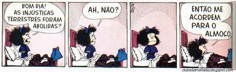 Clube da Mafalda: Tirinha 567