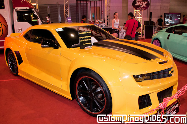 Bomex Widebody Bumblebee Camaro by Autobot Autoworks Custom Pinoy Rides pic2