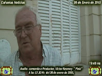 """Cañuelas  Noticias,  Asalto  comando a Productor, Victor Kearney  """" Pinki"""" de Cañuelas"""