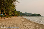 South part of Klong Prao beach, in front of Panviman Resort