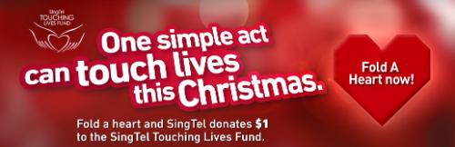 SingTel Touching Lives Fund - Fold A Heart