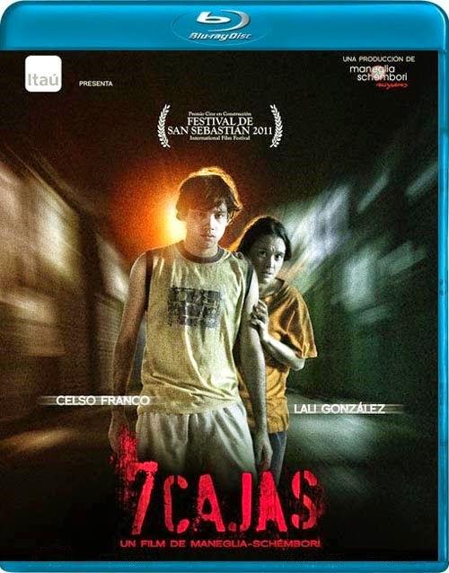 7cajas COVER - 7 cajas | 2012 | Thriller. Acción. Crimen | BDrip 720p | guar-lat DD5.1 | Subs | 4,5 GB