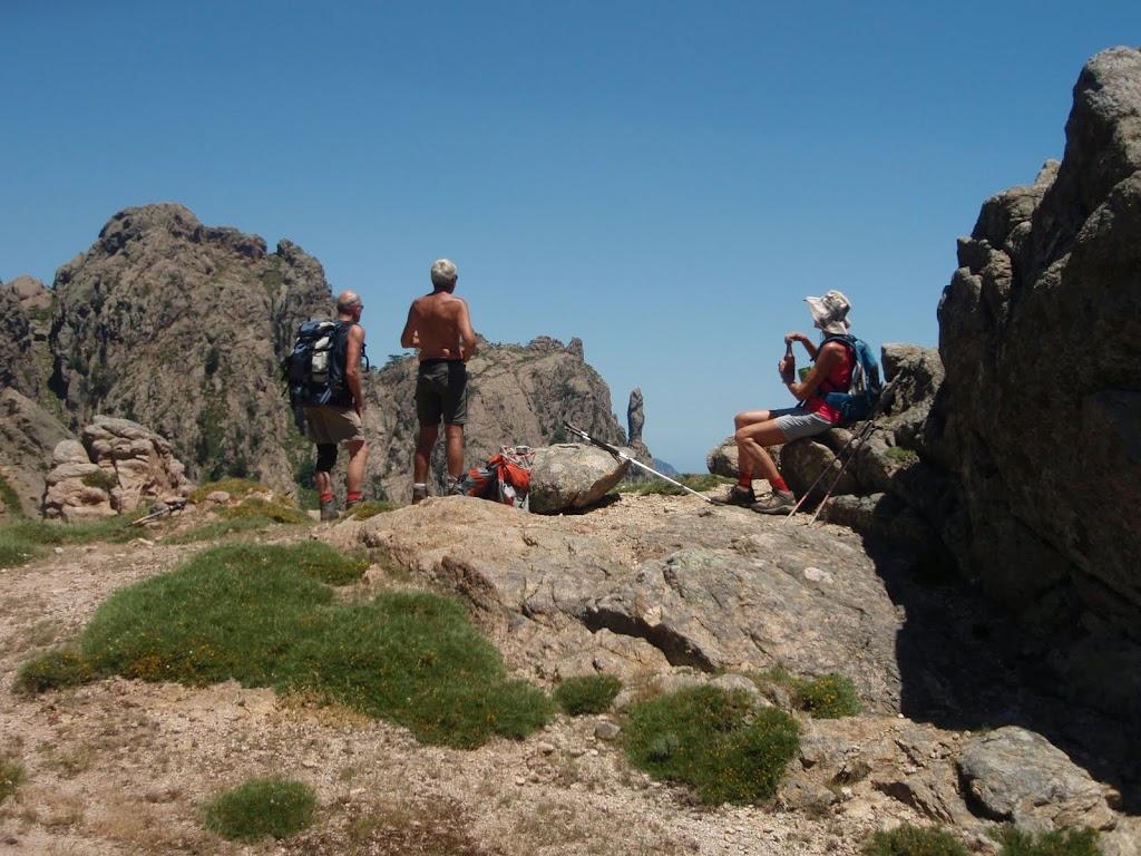 Bocca di Fumicosa : Punta Velacu, Campanile, etc...