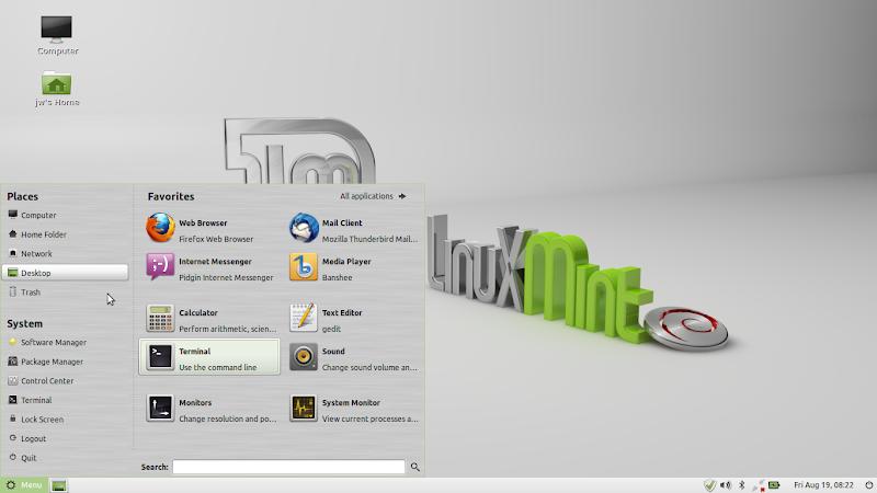 Linux Mint Debian Gnome
