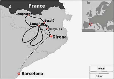 Girona Mountains Itinerary