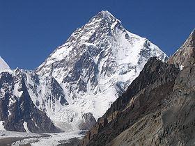K2 - 10 Gunung Tertinggi Dunia