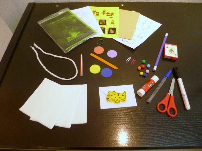 material taller magia infantil