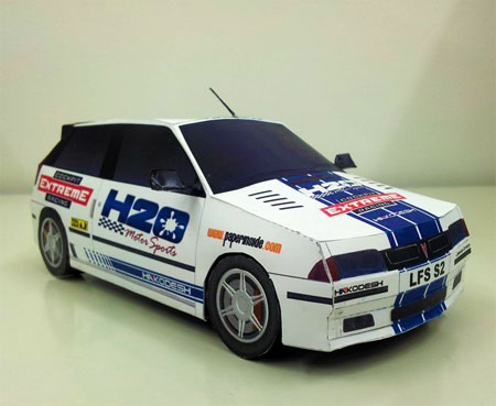 Live for Speed XFG GTI Papercraft
