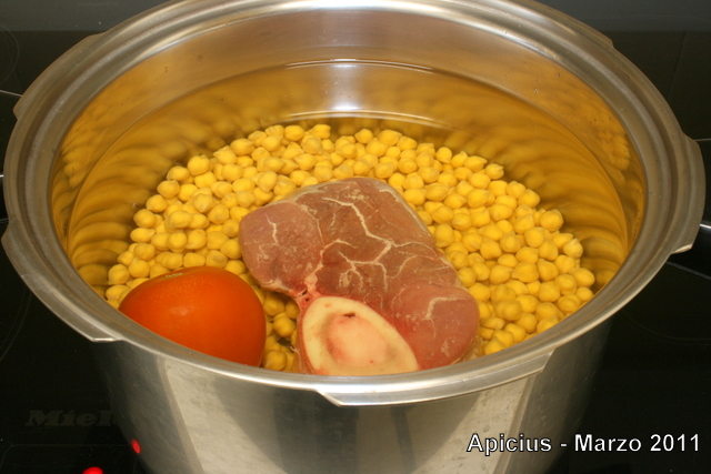 Potaje de garbanzos y acelga la cocina paso a paso - Cocido en la olla express ...