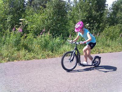 Kickbike, Leppävirta sprintti 2012