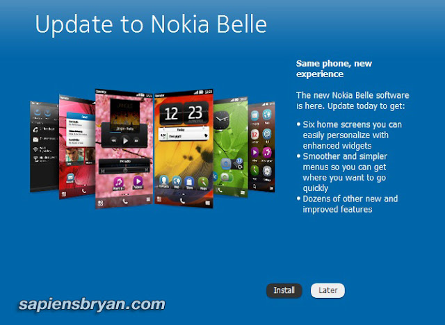 Symbian Belle Update